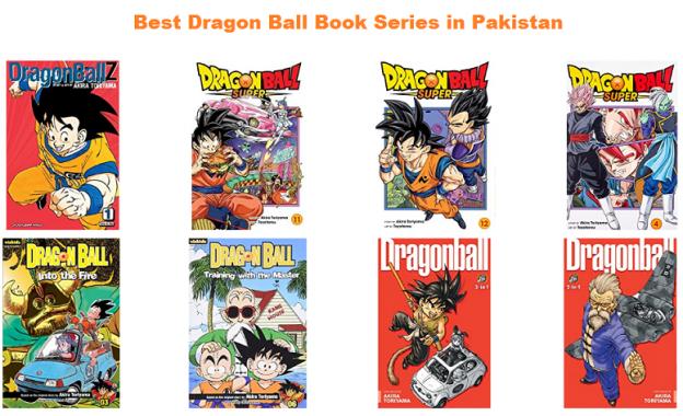 Best Dragon Ball Book Series in Pakistan